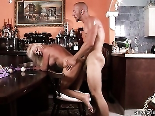 Blonde Can't Live A Day Without Taking Sturdy Boner In Her Mouth