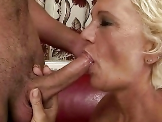 Hot Granny Gets Fucked By Boy