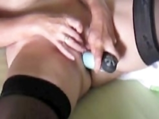 No Sound: Gemma 62 Years Orgasm Filmed By My Hubby