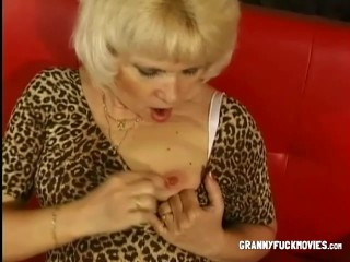 Blonde Granny Loves Hardcore Solo Play