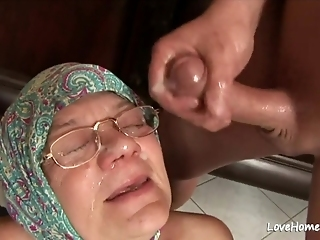 Old Granny Is Still A Cock Thirsty Woman