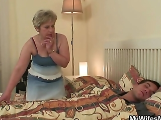 Wife Gets Furious When Found Him Fucking Her Mom