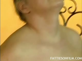 Busty Mature Plays With Her Toy
