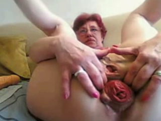 Yr Old Granny Fucks Fist Prolapse