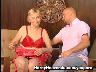 80 Year Old Granny Loves Younger Cocks!