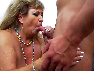 Horny Grannies Getting Fucked Deep By Younger Guys