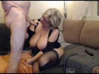 German Blond Bbw Milf Sucks And Fucks