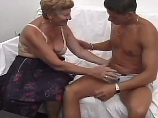 Horny Granny Likes To Plug This Sweet Asshole